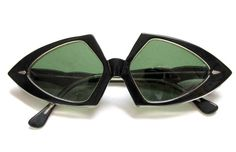 "Vintage sunglasses, marked ""Made in France"". I sold for 150."