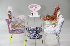 Tracey Emin, Sarah Burton and Paul Smith celebrate the 10th anniversary of Jamie Oliver's Fifteen with the BIG Chair Project | Think-Work-Play