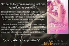 ~ ♦ ~ ♦ ~ ♦ ~ BOOK SPOTLIGHT ~ ♦ ~ ♦ ~ ♦ ~  Pipe Dreams: Spanked by her dirty plumber by Haley Monroe  Order Now - http://amzn.to/2u7mDsW Hosted by Itsy Bitsy Book Bits