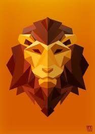Afbeeldingsresultaat voor abstraheren lion sculpture