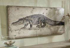 Alligator Painting - Lowcountry Originals