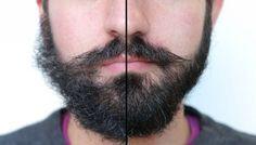 oito regras de ouro irá manter a sua barba  resplandecente.