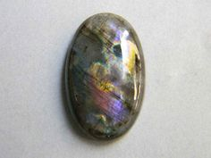 31x19 mm Labradorite Cabochon Gemstone in Oval Shape