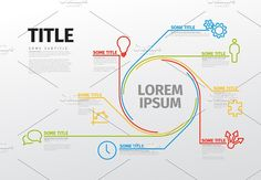Infographic template by Orson on @creativemarket