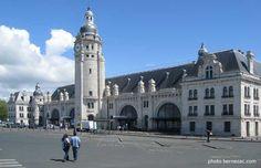 la gare monumentale, La Rochelle, Poitou-Charente