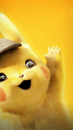 Pokém on Detective Pikachu Phone Wallpaper Best Wallpaper Hd, Hd Cool Wallpapers, Iphone 7 Wallpapers, Cute Cartoon Wallpapers, Wallpaper For Mobile, Download Wallpaper Hd, Most Beautiful Wallpaper, Pikachu Art, O Pokemon