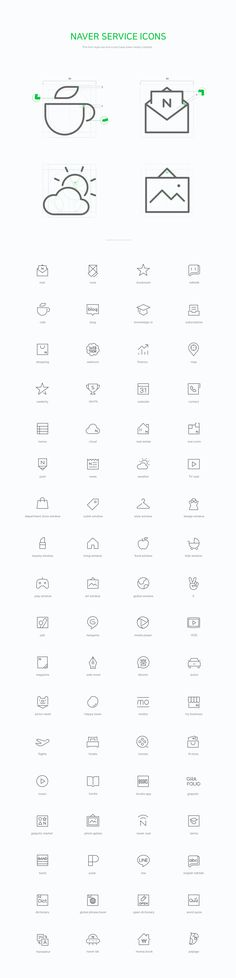 Naver line icon set on Behance Web Design, App Icon Design, Branding Design, Logo Design, Application Icon, Mobile Icon, Ios Icon, Icon Collection, Graphic Design Inspiration