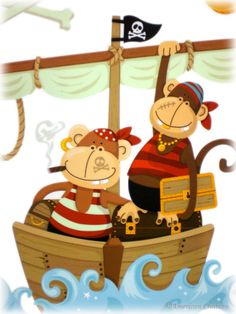 mokey pirates!~