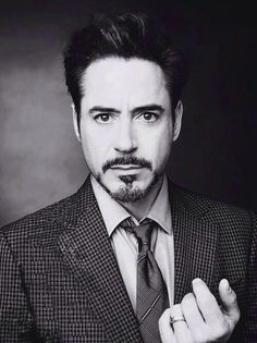 CAN WE TALK ABOUT RDJ?! He can act, he can sing, he's hilarious, HE'S IRON MAN, he's devilishly handsome, and he's basically perfection in human form