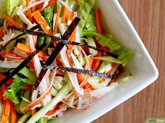 How to Make a Kani Salad: 7 Steps (with Pictures) - wikiHow