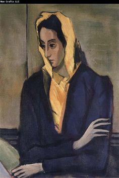 Nicolas de Stael - Portrait de Jeannine - 1941