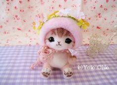 Wool felt classroom Yoko Oko official blog, such as the Cafe de yomofelt cafe