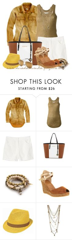 """""""Safari style"""" by doradabrowska ❤ liked on Polyvore featuring Madewell, Étoile Isabel Marant, Monki, MICHAEL Michael Kors, Lacey Ryan, Grace and Bee Charming"""
