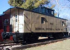 1952 Roscoe, Snyder & Pacific Railway line from Texas. Now a Bed and Breakfast in Iowa...