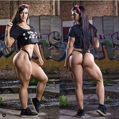 MUSCULAR GLUTES & HEAVY SQUAT LEGS of Luana Maron, sexy #Fitness model : Health, Crossfit & Female #Bodybuilding - the best #Inspirational & #Motivational Pins by: http://cagecult.com/mma