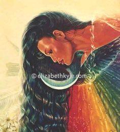 39 best neck chakra 5 images on pinterest spirituality chakra hine aorangi maori version of dawn goddess gumiabroncs Images