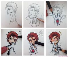Aizen, luv how he breaks the lead in the mechanical pencil