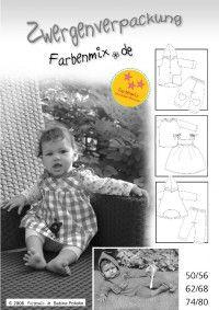 Zwergenverpackung, baby clothing patterns, #farbenmix #zwergenverpackung #baby #sewing #handmade