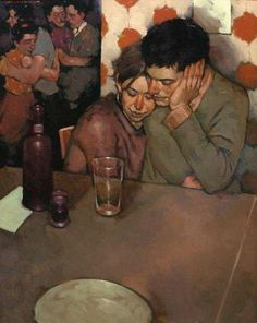 """""""You can't do anything about the length of your life, but you can do something about its width and depth."""" (H.L. Mencken) Art: Joseph Lorusso"""