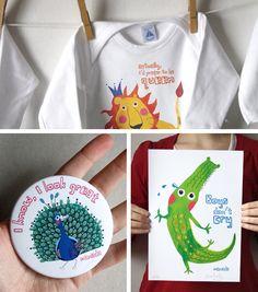 Manada WELCOME Pack (body + pocket mirror + illu) by Manada #gift #baby #justborn #mum