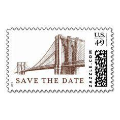 City Lights C by Ceci New York Postage Stamp