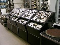 Magnetic Tape Recorders and Reproducers. Mono Ampex machines. #recording