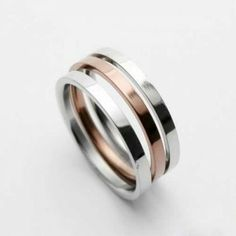 Mens Gold & Silver Colour Titanium Width: Titanium RingQuantity: one pieceWe bring you the best quality Rings. Titanium Jewelry, Titanium Rings, Jewellery Uk, Jewelry Shop, Band Rings, Bands, Silver Color, Rings For Men, Wedding Rings