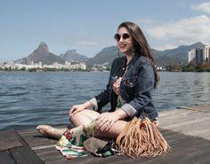 Rio De Janeiro  blog starving levis jacket lagoa rodrigo de freitas