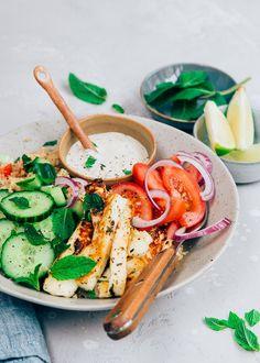 Halloumi, Best Fast Food, 20 Min, World Recipes, Mediterranean Recipes, Soul Food, Foodies, Dinner Recipes, Yummy Food