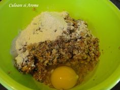 Chiftele de ciuperci Grains, Cooking Recipes, Eggs, Breakfast, Food, Morning Coffee, Chef Recipes, Essen, Egg