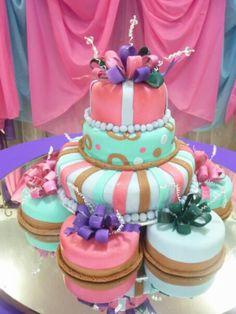 Sweet sixteen Cake! Find us at Facebook by Dalabu Creations