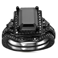 <li>Black diamond ring</li>%0A<li>14-karat black rhodium-plated gold jewelry</li>%0A<li><a href='http://www.overstock.com/downloads/pdf/2010_RingSizing.pdf'><span class='links'>Click here for ring sizing guide</span></a></li>