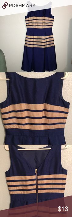 EUC Like New Royal Blue Just Taylor Cocktail Dress EUC Like New Royal Blue Just Taylor Cocktail Dress worn once! This dress is fully lined and great for a night out or cocktail party. Pet Free Smoke Free 🏡 Just Taylor Dresses Midi