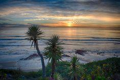 Sunset Over Swamis - Encinitas - California
