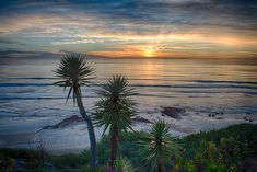 Sunset Over Swamis - Encinitas - California