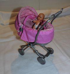 mattel spielzeug puppen kinderwagen indonesien 2003 barbie mit baby puppe barbie baby and. Black Bedroom Furniture Sets. Home Design Ideas