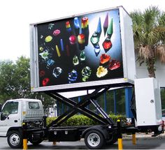 P10 Moble Truck LED Screen - LED Video Display