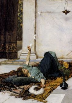 Dolce Far Niente - John William Waterhouse 1879