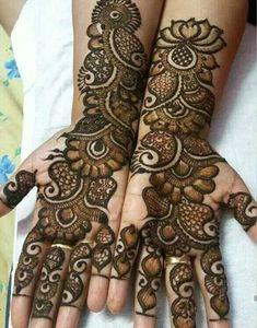 Something try in holiday Arabic Mehndi Designs Brides, Rajasthani Mehndi Designs, Peacock Mehndi Designs, Khafif Mehndi Design, Mehndi Designs Book, Mehndi Designs For Girls, Mehndi Designs For Beginners, Mehndi Designs 2018, Stylish Mehndi Designs