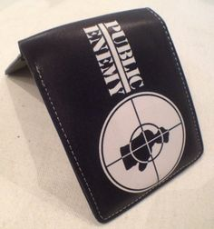 Retro  Public Enemy  classic hiphop icon wallet. #hiphop #rap #hiphopmusic #oldschool #classic #limitededition #1980's
