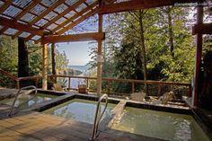 Pool in San Juan Islands, Washington | Luxury Camping Glamping Washington Islands