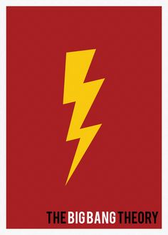 Minimalist Poster The Big Bang Theory / On sale at Verse Store (bit. ly/UbFUz0)