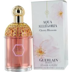 Guerlain 'Aqua Allegoria Cherry Blossom' Cherry blossom, green tea, sweet peach, bergamot, almond