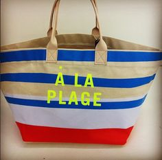 Our new beach bag!