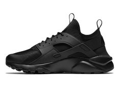 purchase cheap 1c06b 08834 Nike Air Huarache Run Ultra Size 10.5 US Black Triple Men s Shoes  Nike   RunningShoes