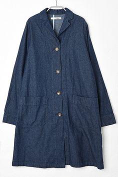 フィルター 6ozデニムショップコート / lightweight denim coat on ShopStyle