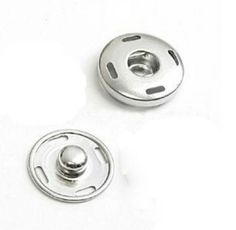 Lot 10 supports pour bouton pression 20 mm : Boutons par lescreationsdeg6k