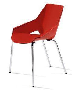EKLO - Chaise de réunion/ empilable