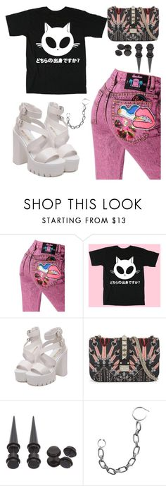 """I Spy"" by oceanforthestars ❤ liked on Polyvore featuring beauty, Marc Jacobs, Valentino and Hot Topic"