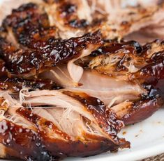 Country Cookin': Crockpot Brown Sugar Balsamic Glazed Pork Tenderloin